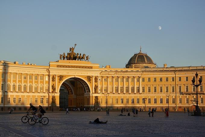 Russland, St. Petersburg, Palastplatz