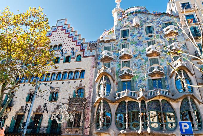Casa Batlló in Barcelona, Spanje