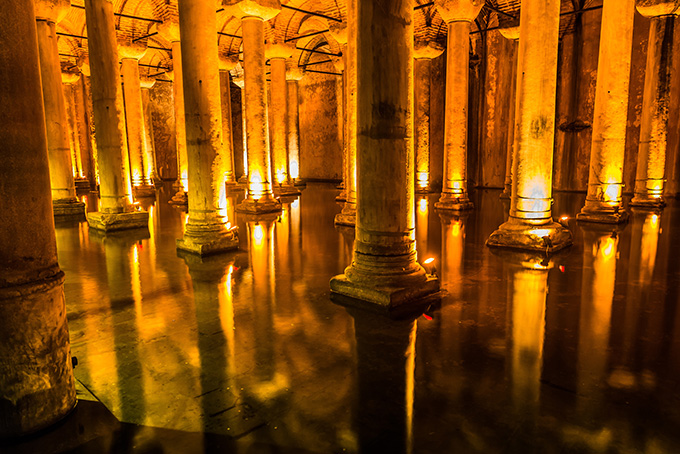 Bezienswaardigheden in Istanbul: Basilica Cisterne