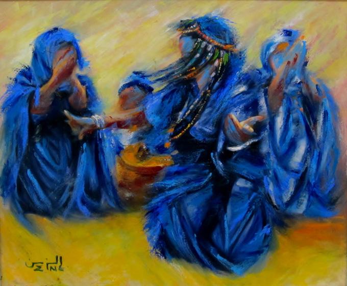 Moderne Marokkaanse kunst