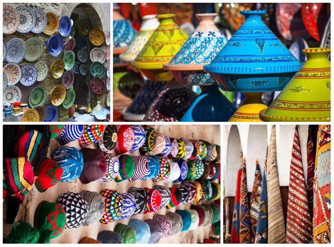 Bazaar in Marokko