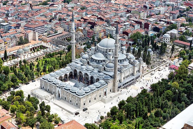 Bezienswaardigheden in Istanbul: Süleymaniye-moskee