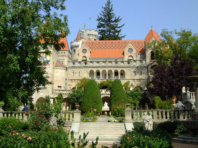 De stad Székesfehérvár in Hongarije