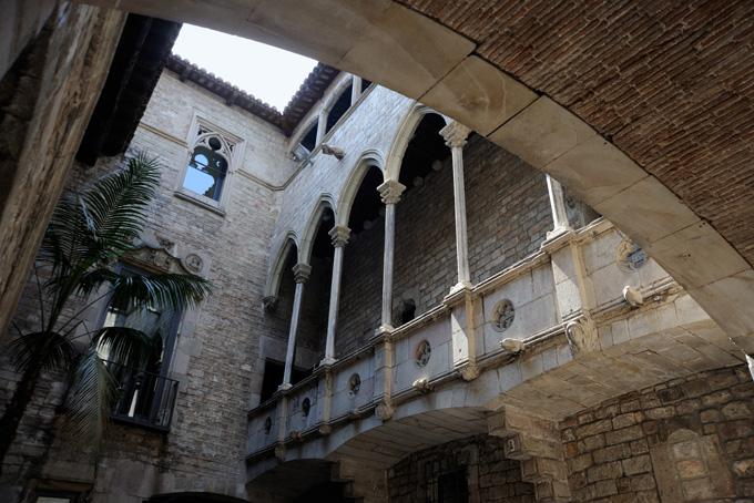 Picassomuseum in Barcelona, Spanje