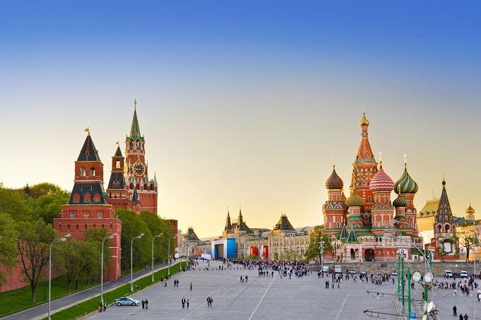 Russland, Moskau, Roter Platz