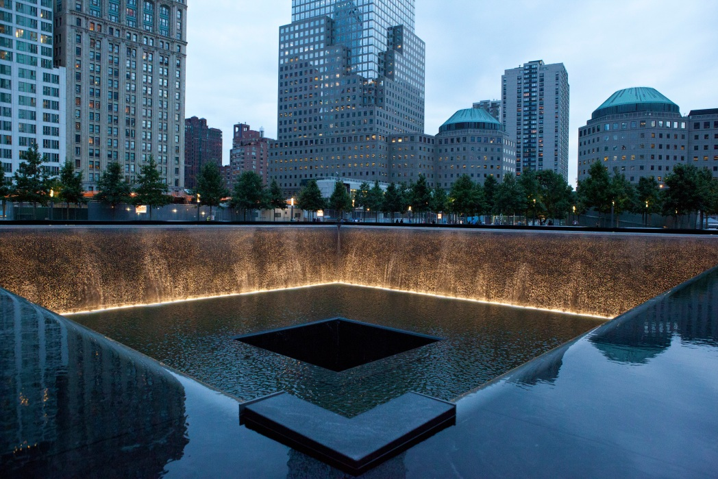 The 9/11 memorial, New York