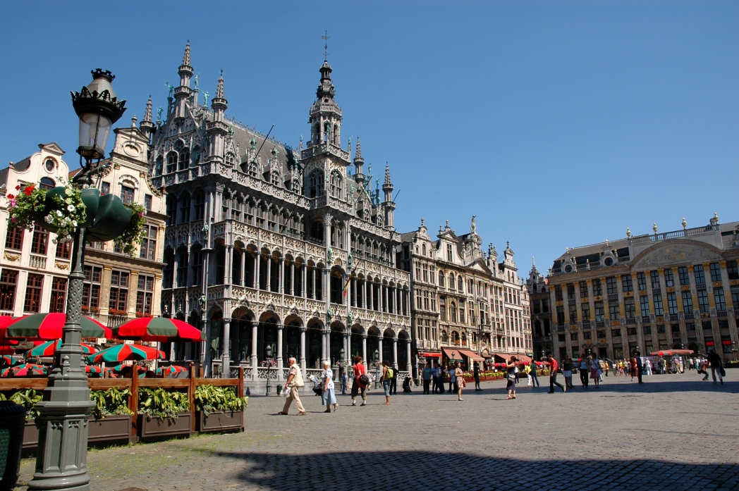 Belgien, Brüssel, Grand-Place