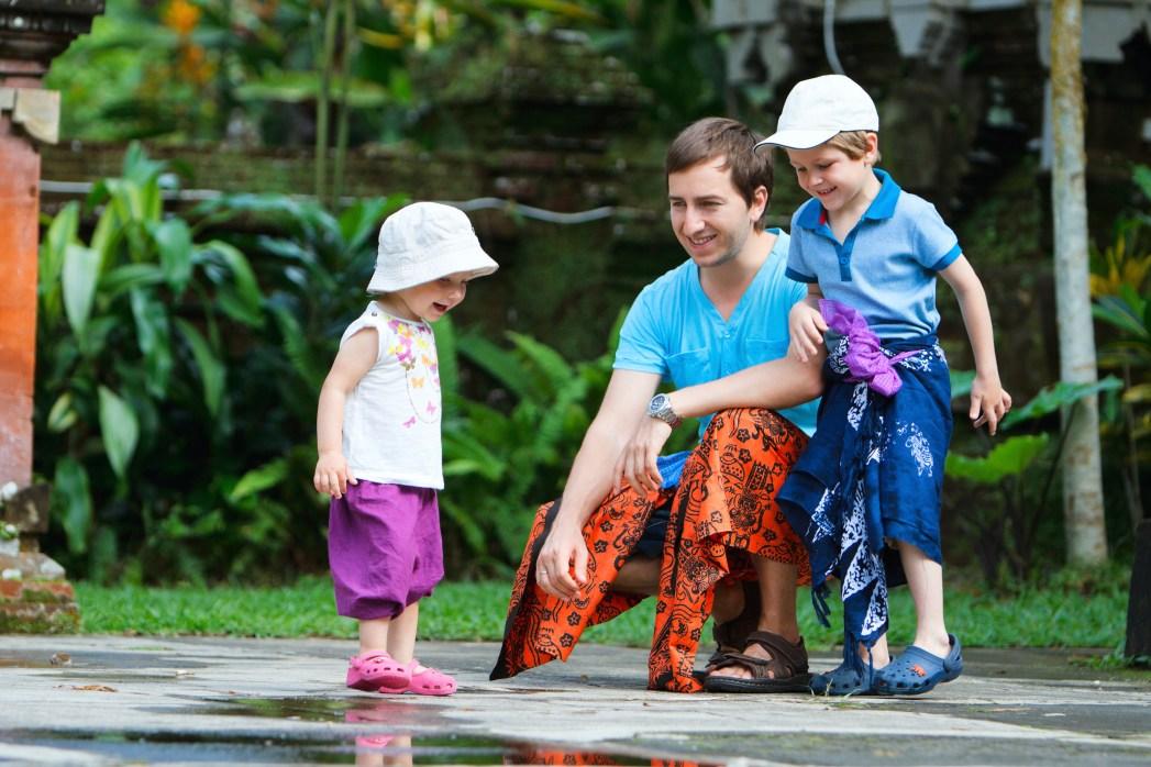 reizen met kinderen Bali