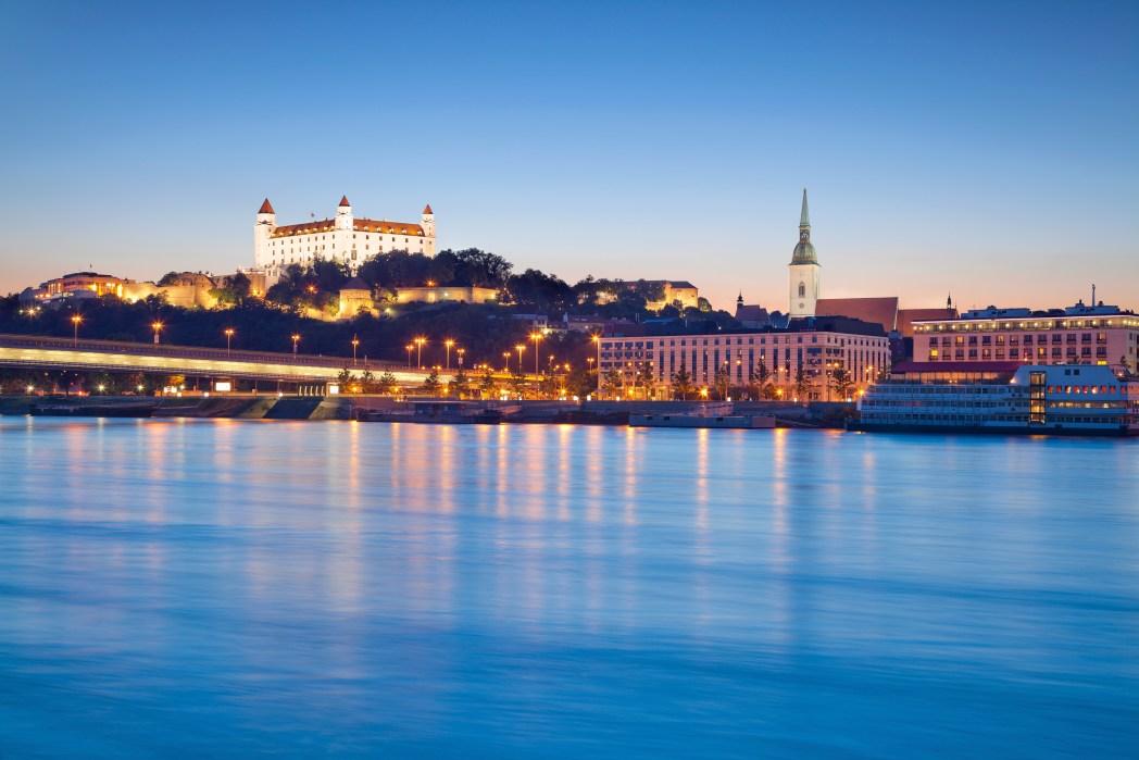 Brug Bratislava Slowakije