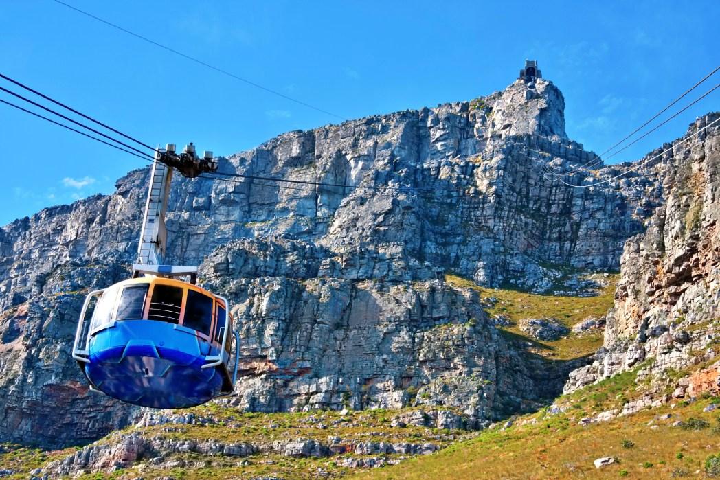 Tafelberg Kaapstad kabelbaan