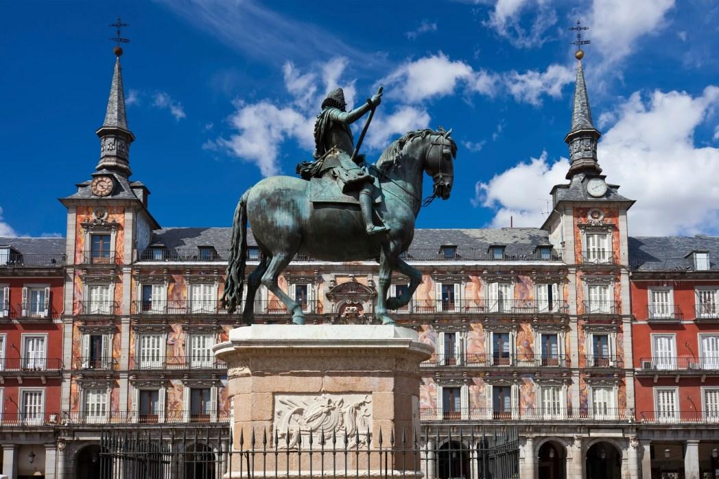 Spanien, Madrid, Plaza Mayor