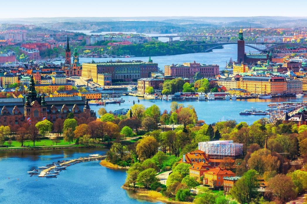 Eilanden voor de kust van Stockholm