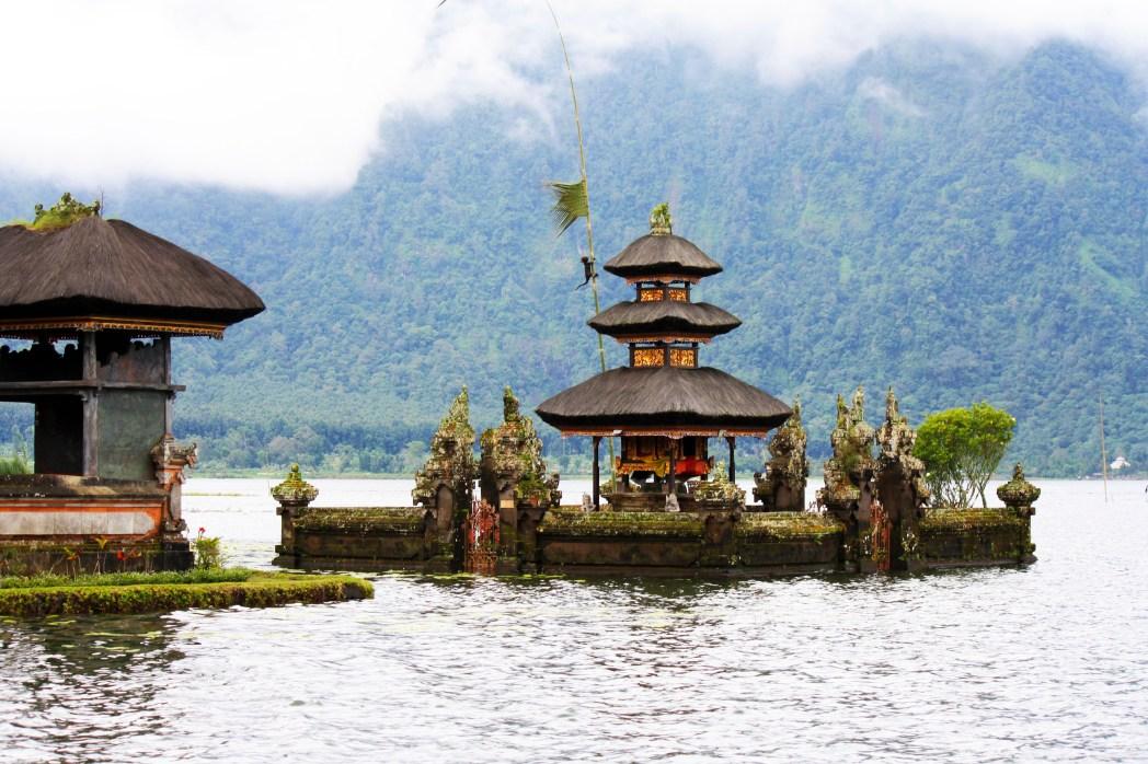 Tempel Bali warme Temperaturen
