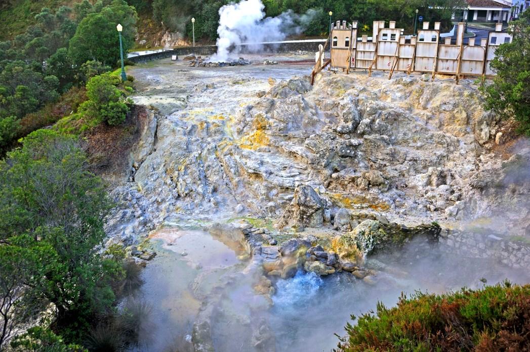 warmwaterbronnen Azoren