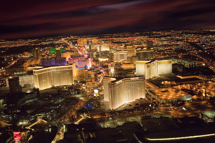 Skyline van Las Vegas