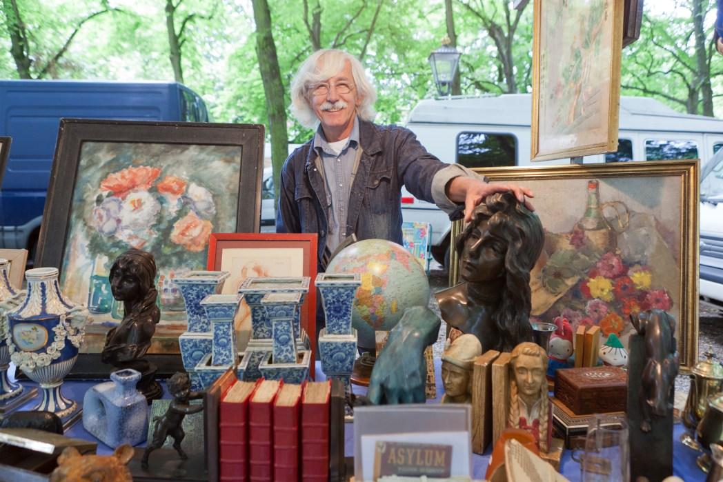 Antiekmarkt Lange Voorhout Den Haag