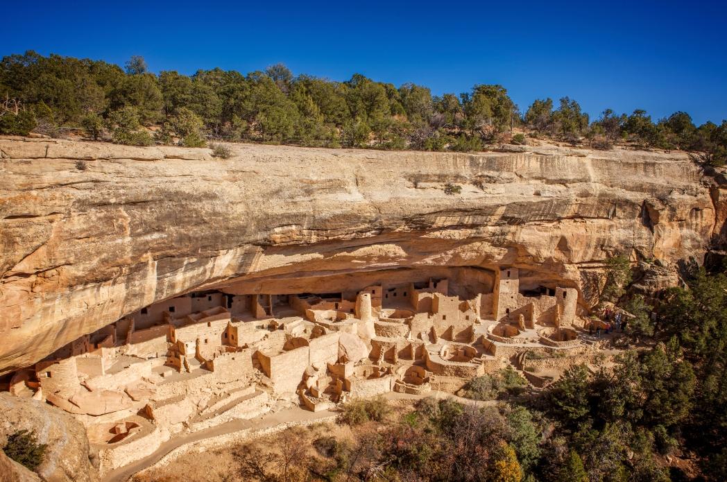 Nationaal park Mesa Verde in de Amerikaanse staat Colorado