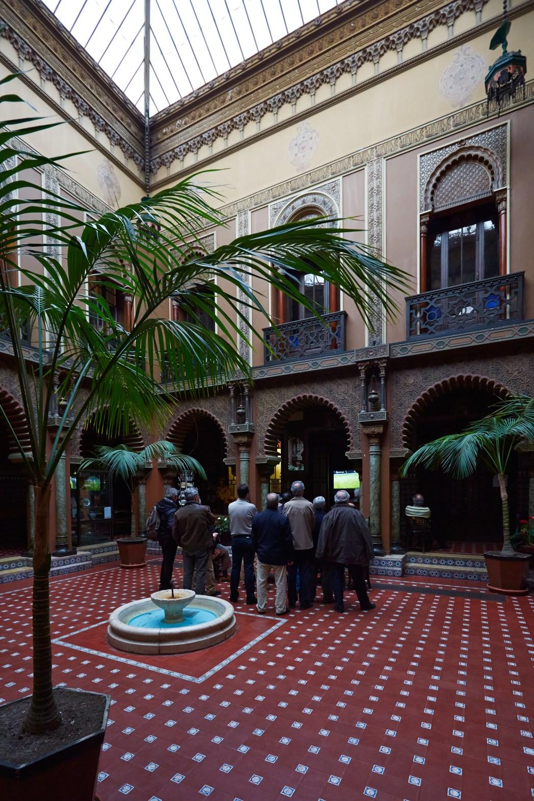 Binnenplaats van Casa do Alentejo
