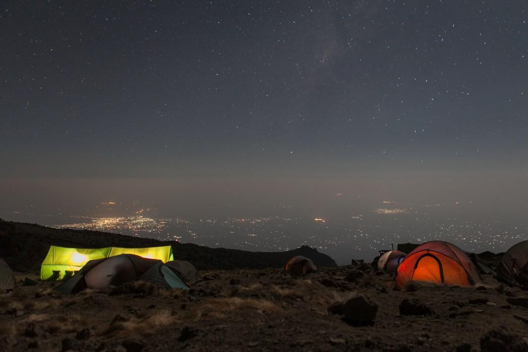 Kamp Kilimanjaro expeditie