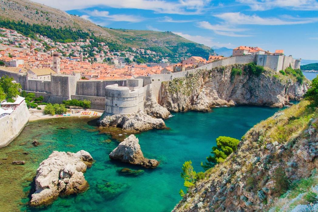 Havenstad Dubrovnik in Kroatië