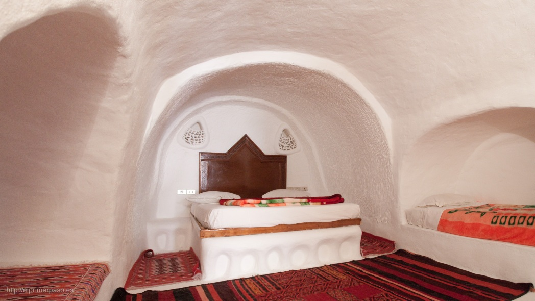 Grotwoning in Matmata, Tunesië