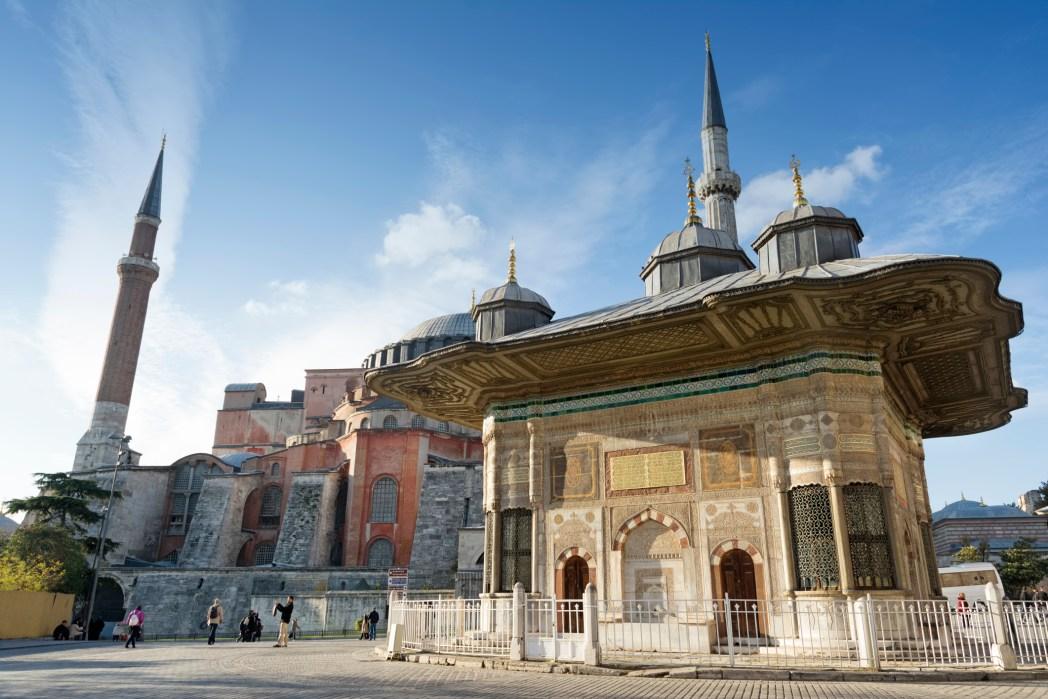 fontein ahmed III istanbul