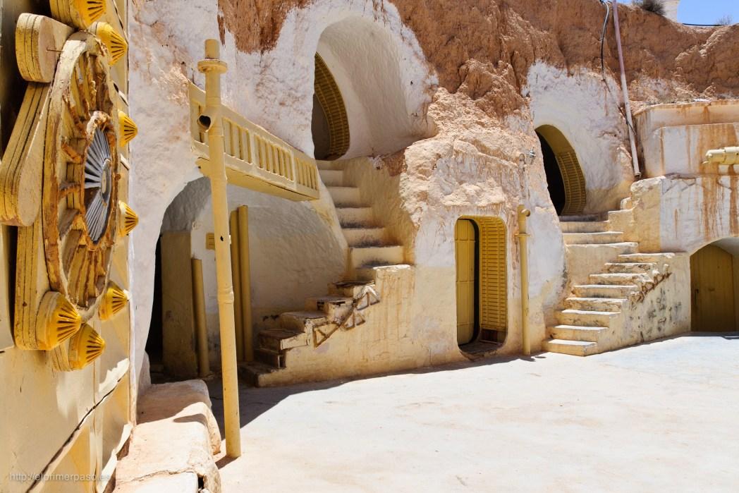 Grotwoningen in Matmata, Tunesië