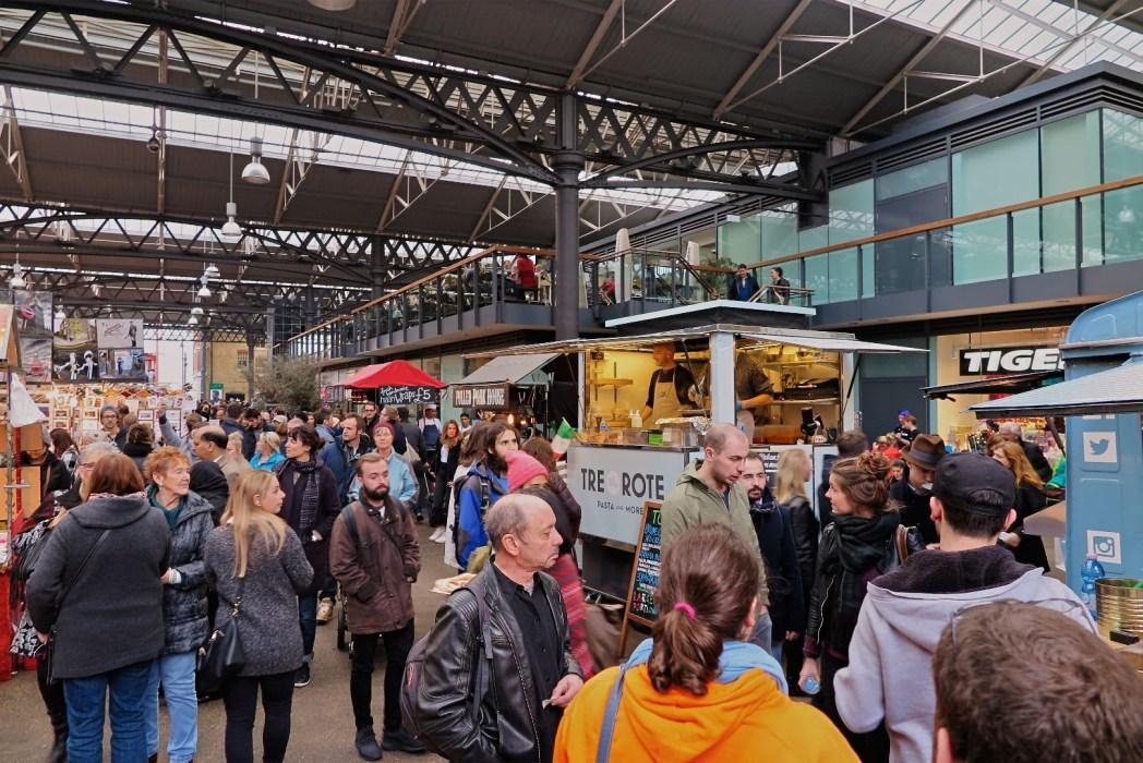 Een overzicht van de Old Spitalfields Market