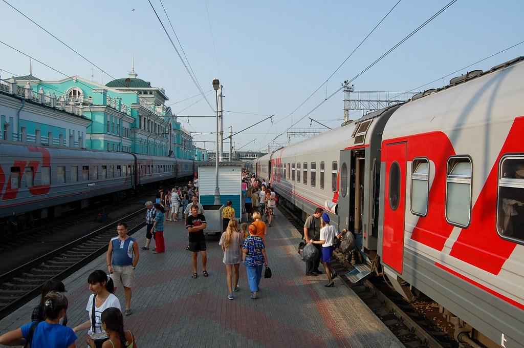 Omsk treinstation
