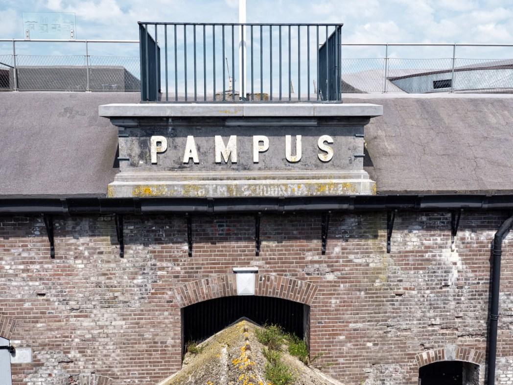 Pampus eiland Amsterdam