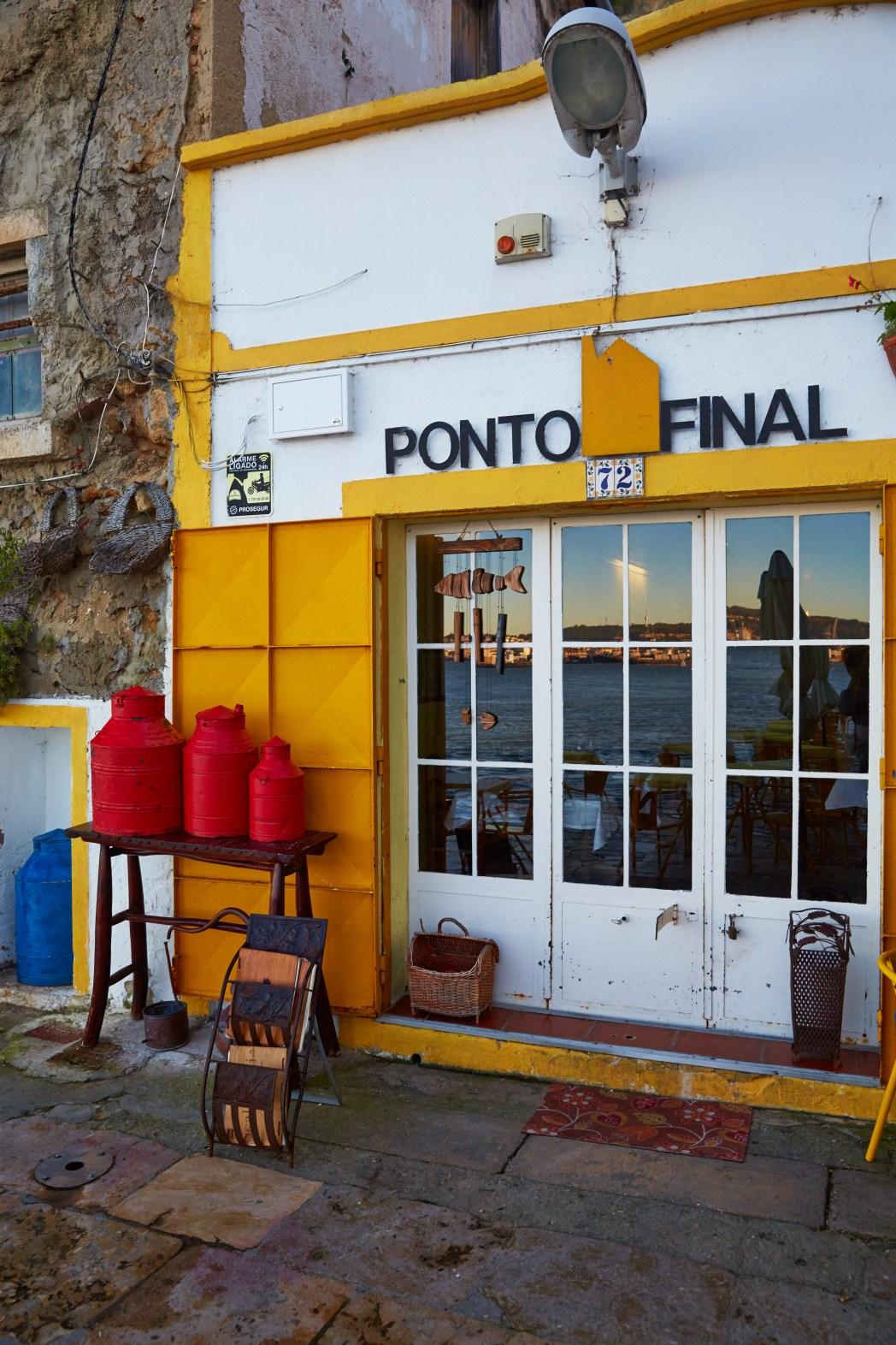 Restaurant Ponto Final in Lissabon
