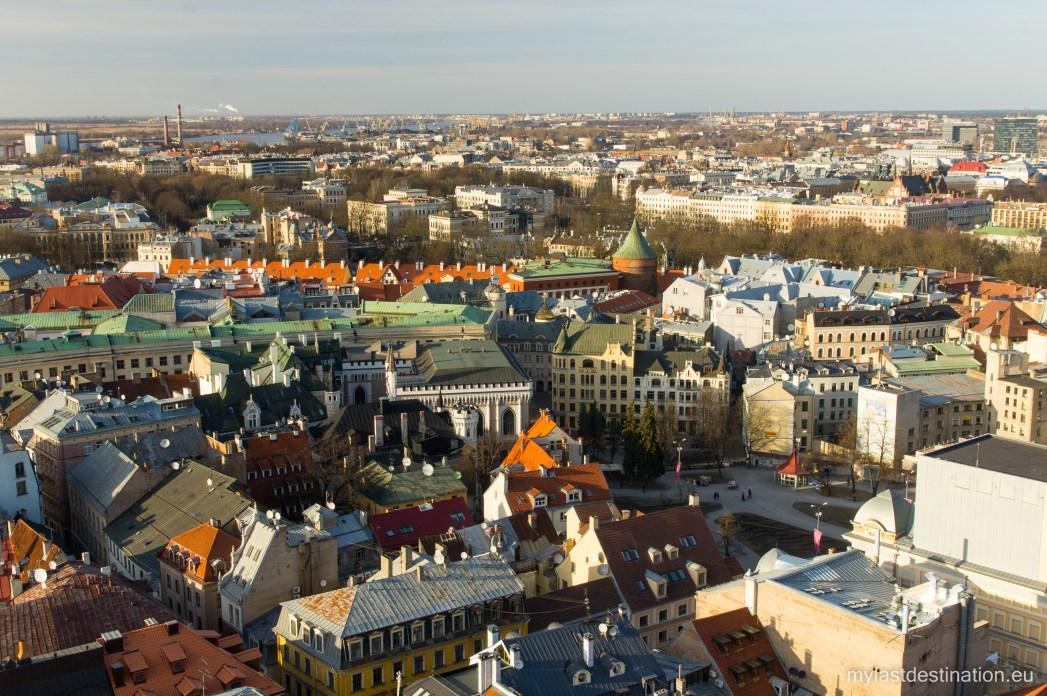 Riga stadsgezicht, Letland