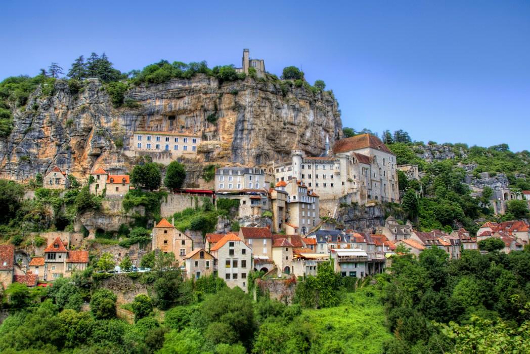 Rocamadour in Zuid-Frankrijk