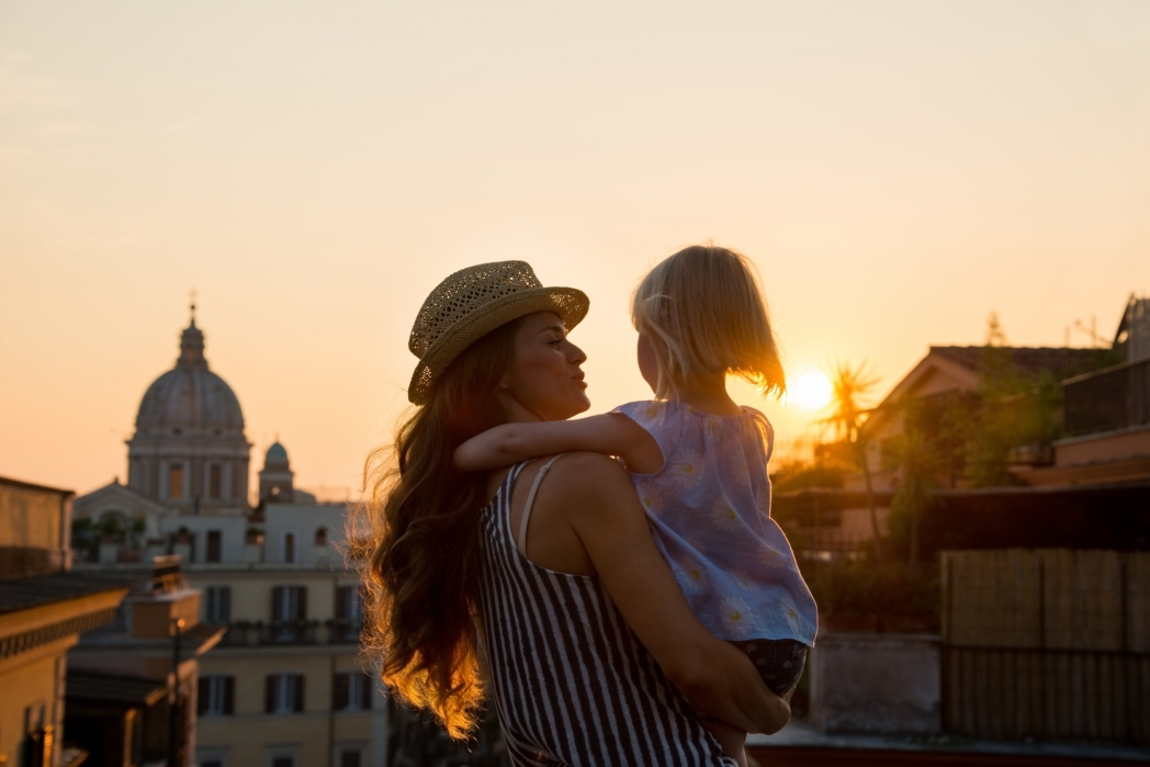 Roma met kinderen