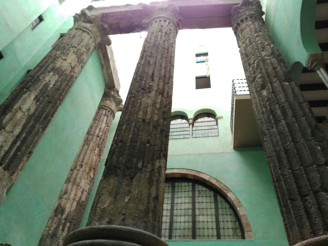 Romeinse ruïnes Barcelona