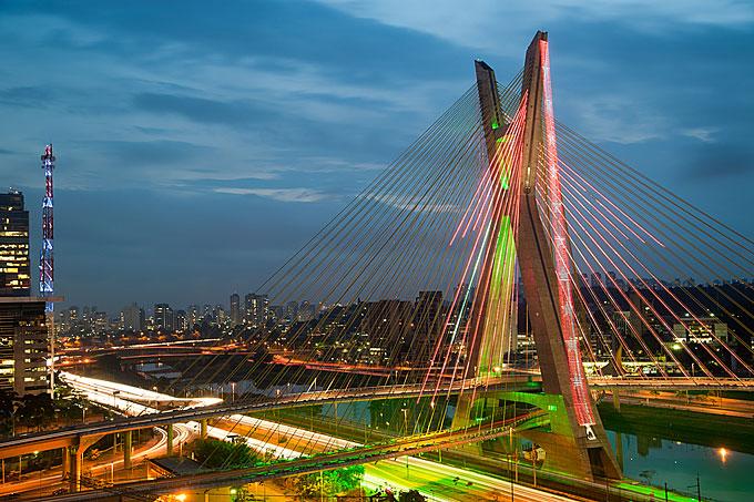 Sao Paolo Octávio Frias de Oliveira Bridge