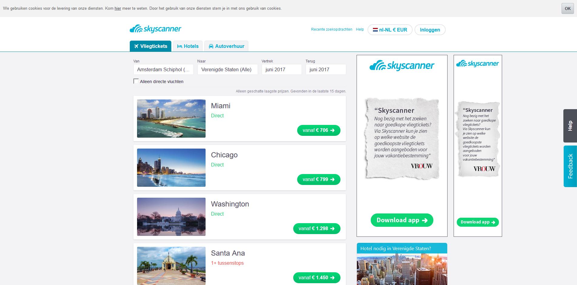welke site goedkoopste vliegtickets