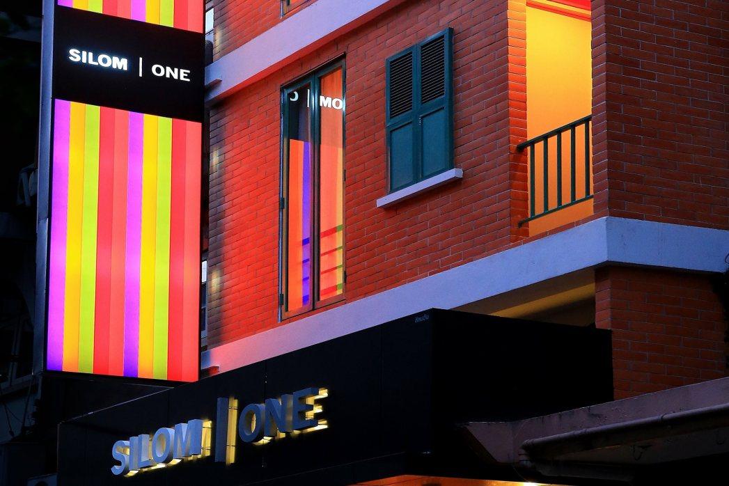 Kleurrijk gebouw Bangkok