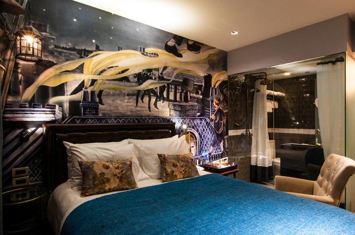 Theatrale hotelkamers Bangkok