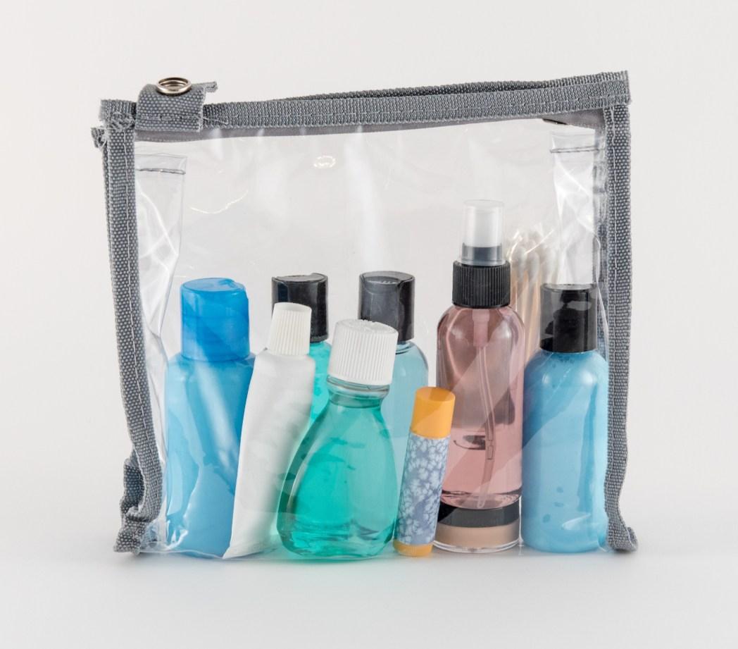 toilet tas, shampoo, conditioner, aftersun