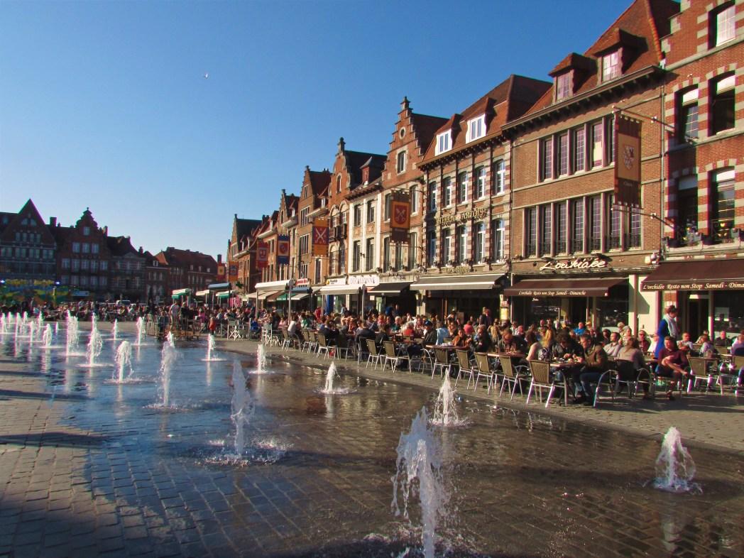 Doornik, Tournai, marktplein