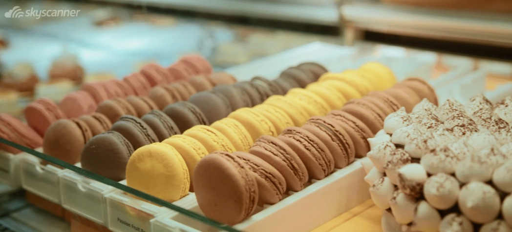 Macaroons in Dominique Ansel Bakery - New York