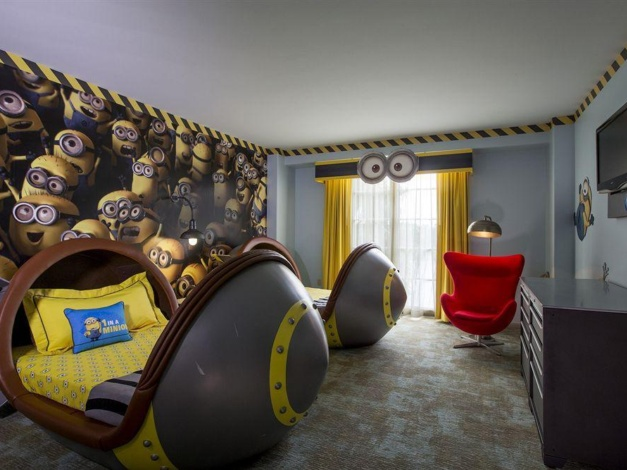 Minion-kamer in Universal'S Loews Portofino Bay Hotel
