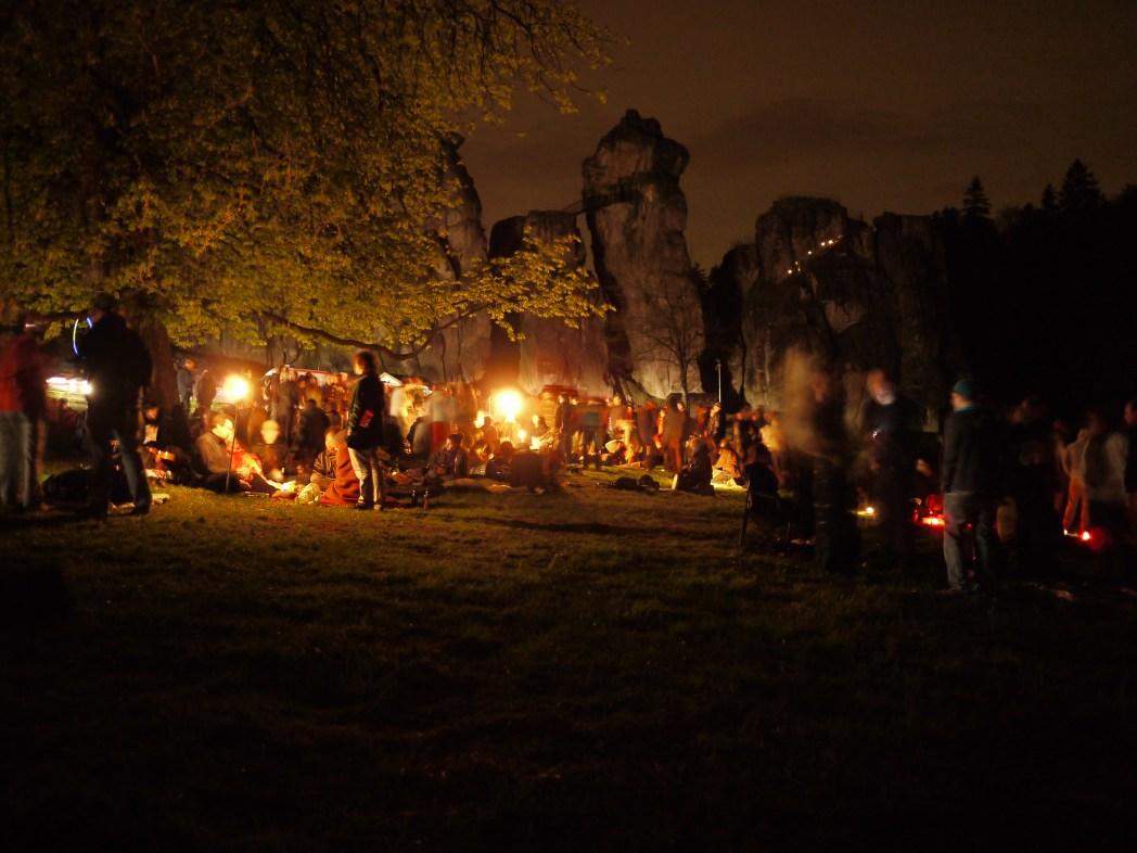 Vreugdevuur Walpurgisnacht, Duitsland